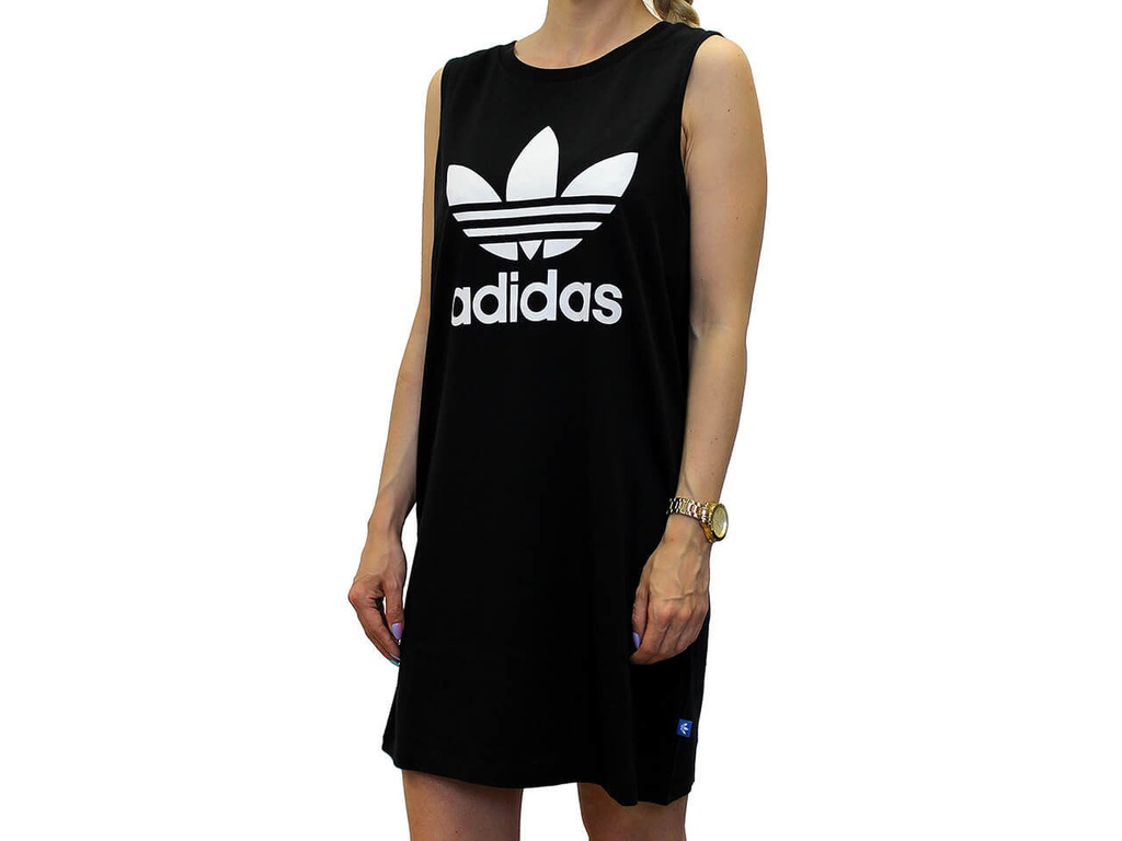 Sklep Bluza damska Adidas Trefoil Tank Dress