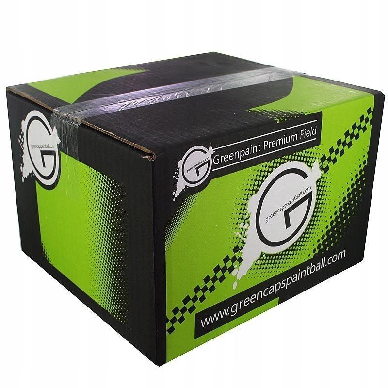 Kulki paintball 0,5 cala Greenbox a'4000 szt.