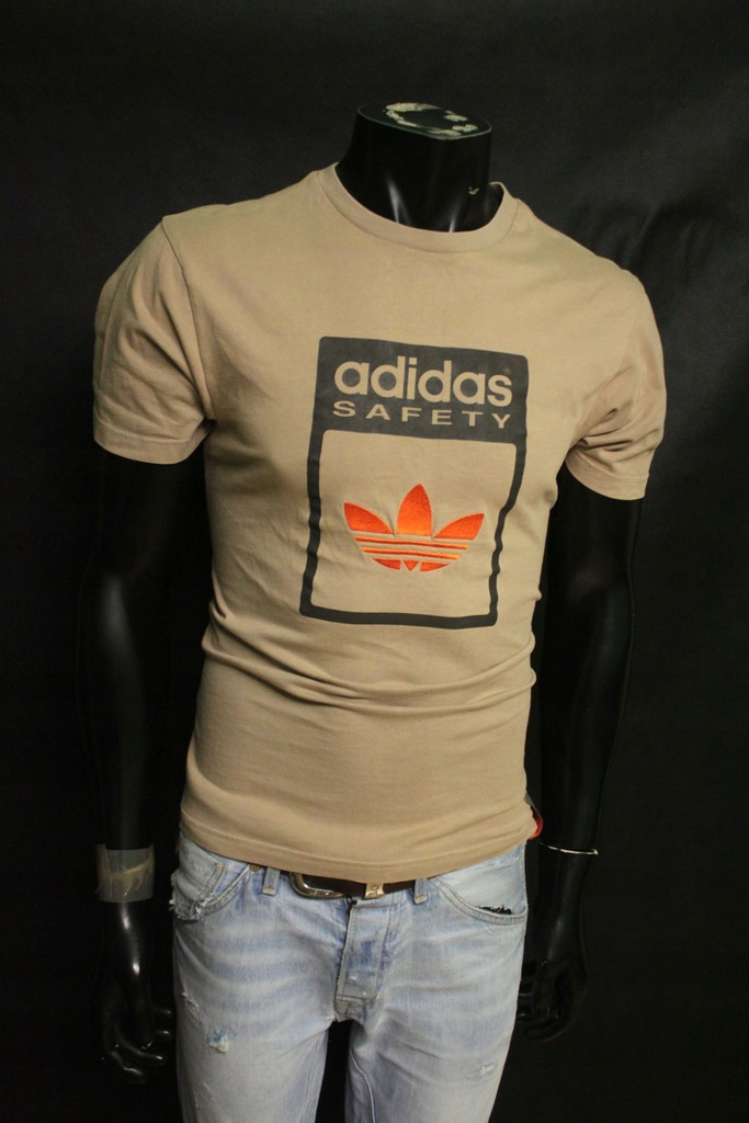 adidas originals orange koszulka meska