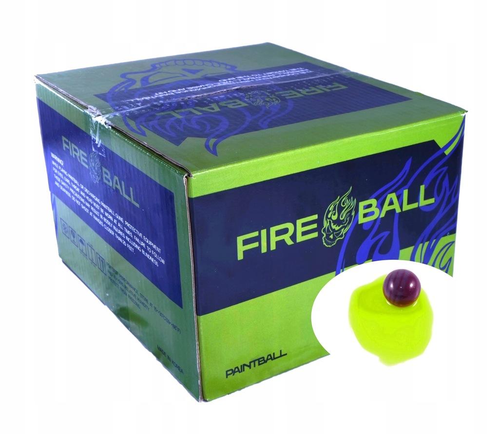 Kulki Paintball FIREBALL BASIC 2000szt*Jakość