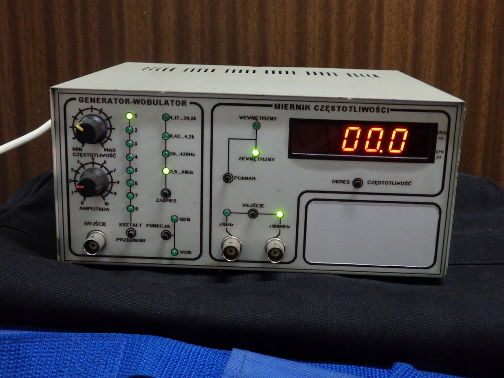 generator wobulator elektroniczny sprawny
