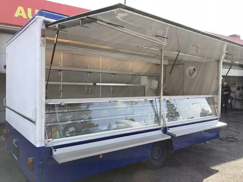 Przyczepa gastronomicz wędlin Food Truck