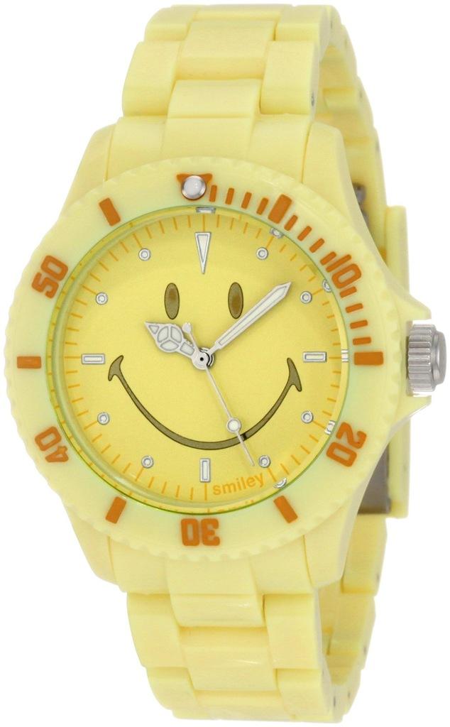 Zegarek SMILEY WGS-PPYV01 unisex żółty nowy