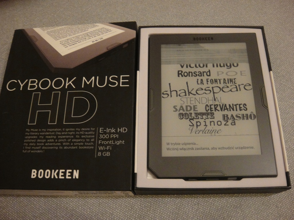 BOOKEEN CYBOOK MUSE HD 8GB