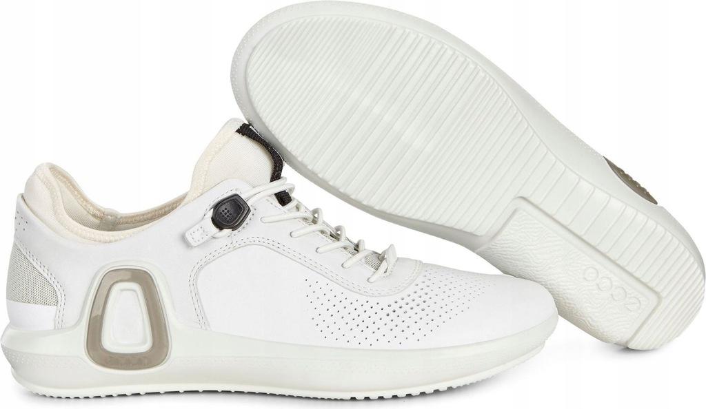 Białe Czarne Buty Damskie Sportowe Ecco rozmiar 39