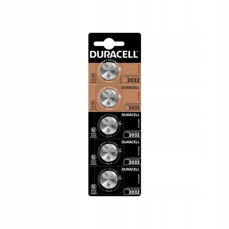 Duracell CR2032 DL2032 bateria 3V blister 5 szt.