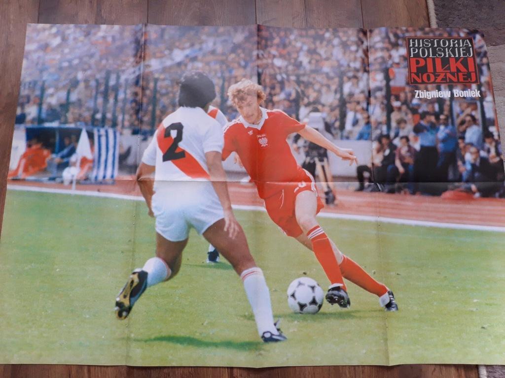 Plakat Zbigniew Boniek