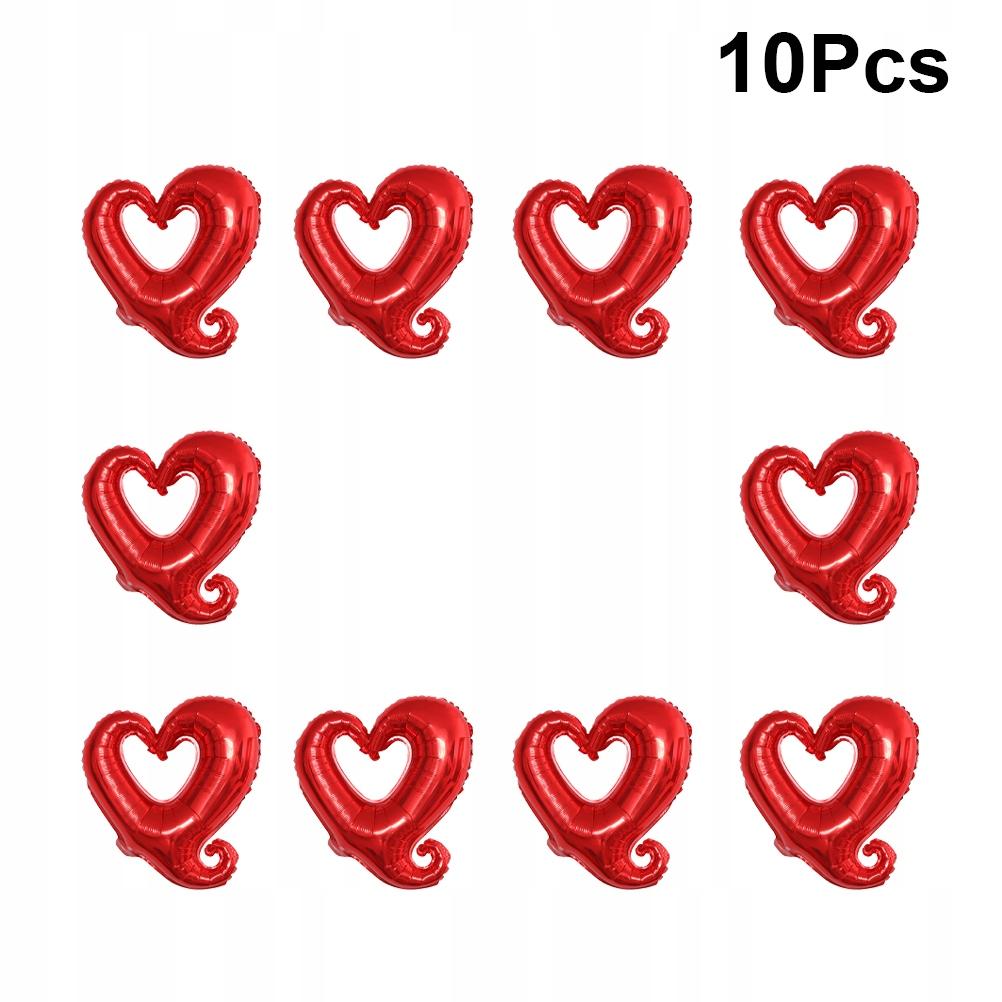 10 sztuk 18 cali Walentynki Balon Zestaw Balon Pap
