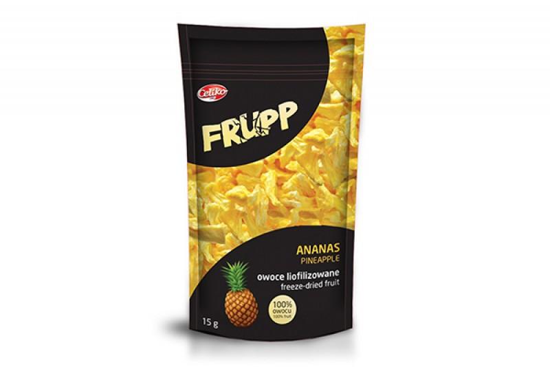ananas Frupp owoce liofilizowane 15g Celiko