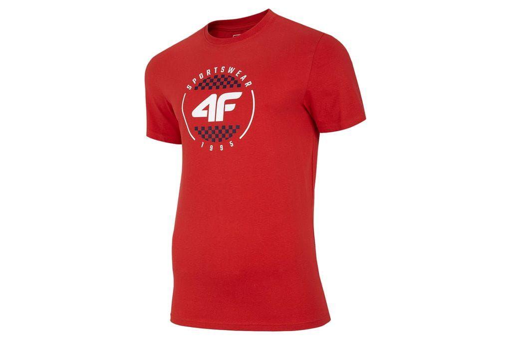 Koszulka 4F H4L20 TSM022 Czerwony