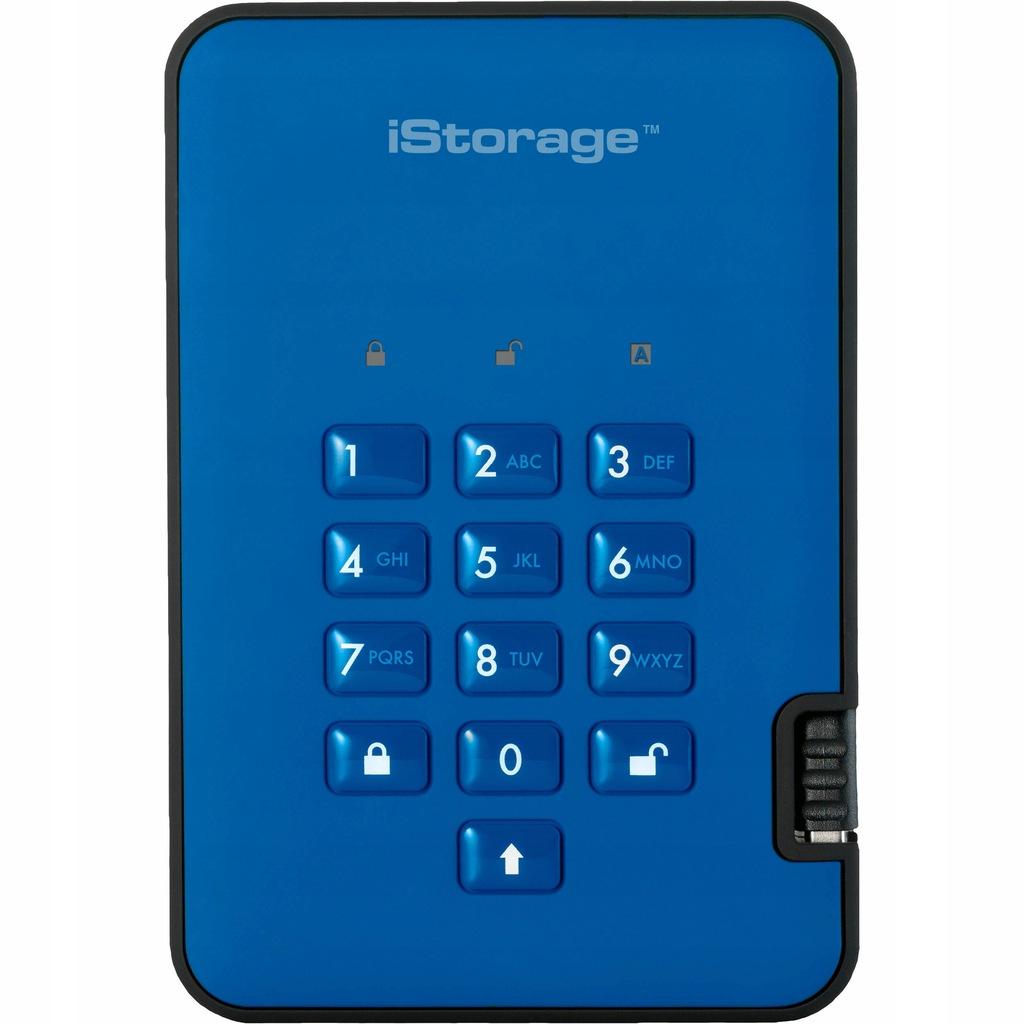 Szyfrowany dysk zewnętrzny iStorage 4TB SSD AES FV
