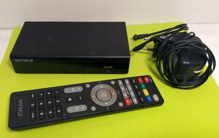 DEKODER DVB-T WIWA HD80 EVO *OPIS*