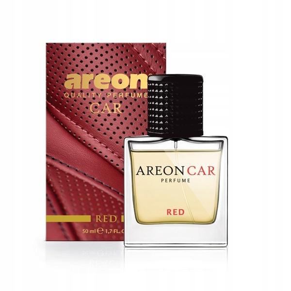 AREON Perfume Glass perfumy do samochodu Red 50ml