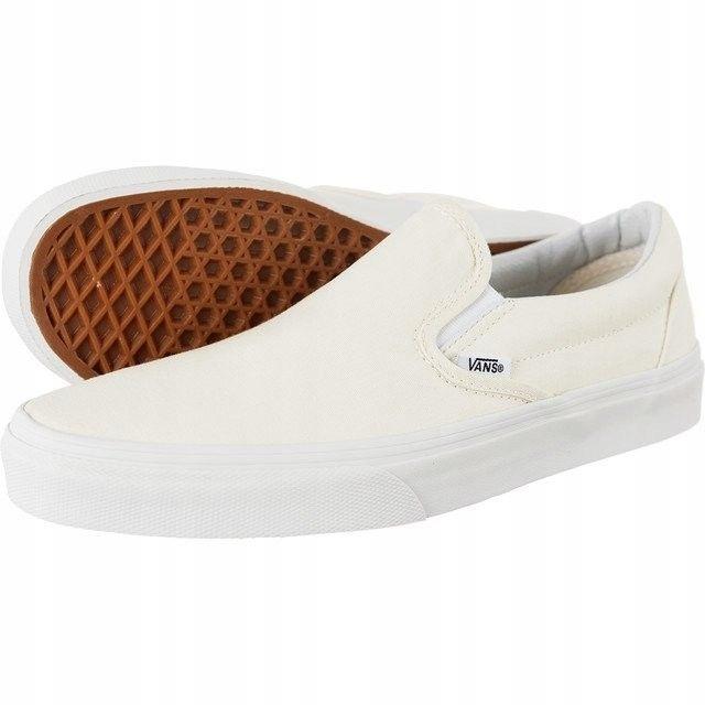 Vans Classic Slip on WHT rozmiar 50