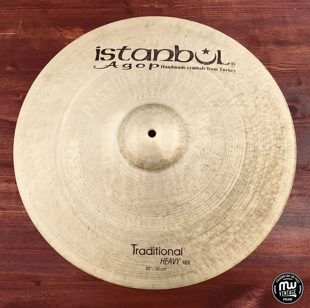 """Istanbul Agop - Traditional Heavy Ride 20"""""""