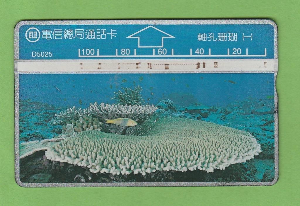 TAJWAN fauna morska ryba / D5025 / seria 526C