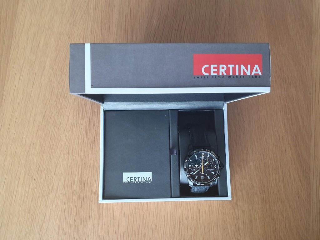 Zegarek męski Certina DS Podium big size chronoGMT