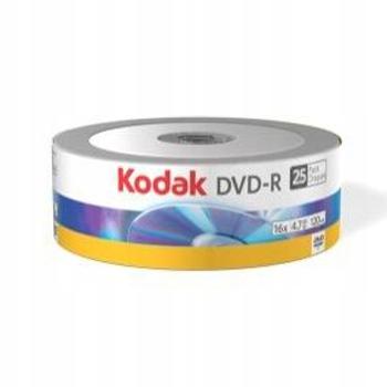 DVD-R KODAK 4.7GB X16 120MIN SPINDLE 25 SZTUK
