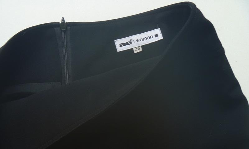 EA WOMAN spódnica czarna klasyczna 36S NOWA 7554619483
