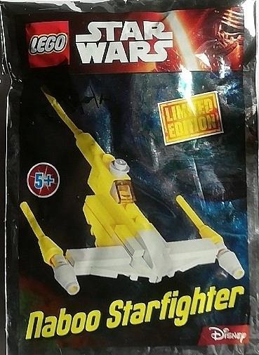 LEGO STAR WARS NABOO STARFIGHTER 911609