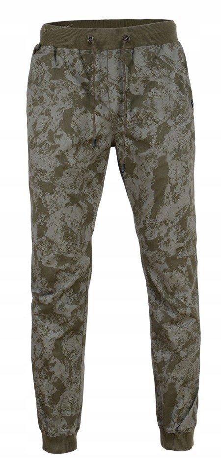 Spodnie męskie bawełniane 4F SPMT001 zielone XL