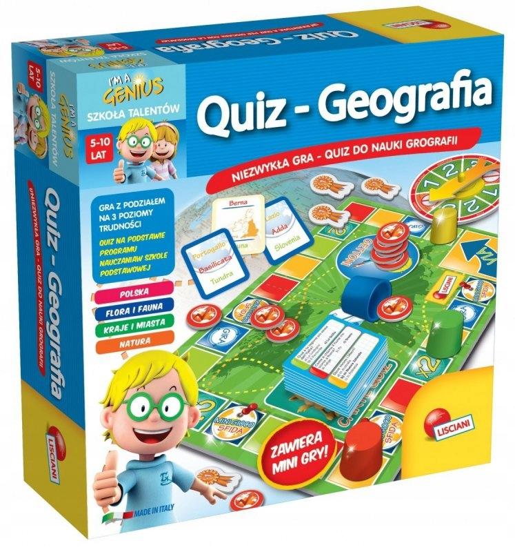 Gra Im A Genius - Quiz Geografia