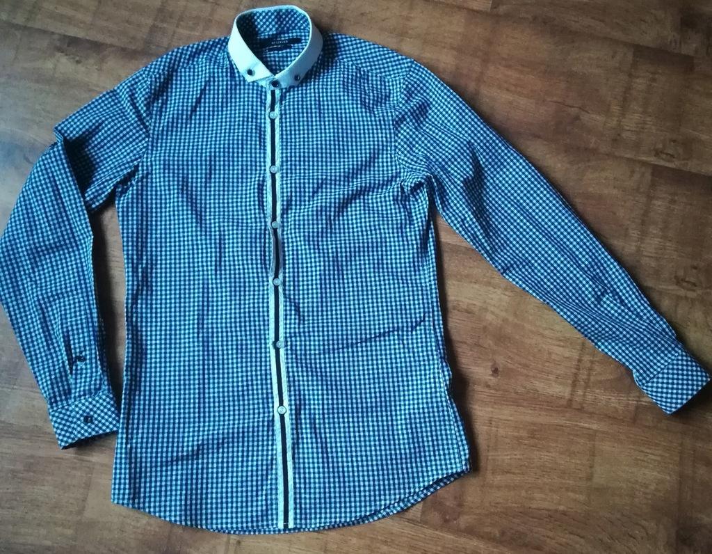 Koszula męska/młodzieżowa slim fit rozmiar 39