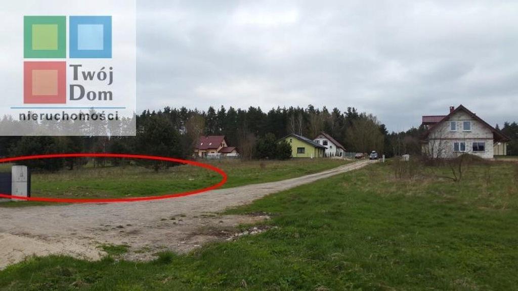 Działka Sianów, koszaliński, 1060,00 m²