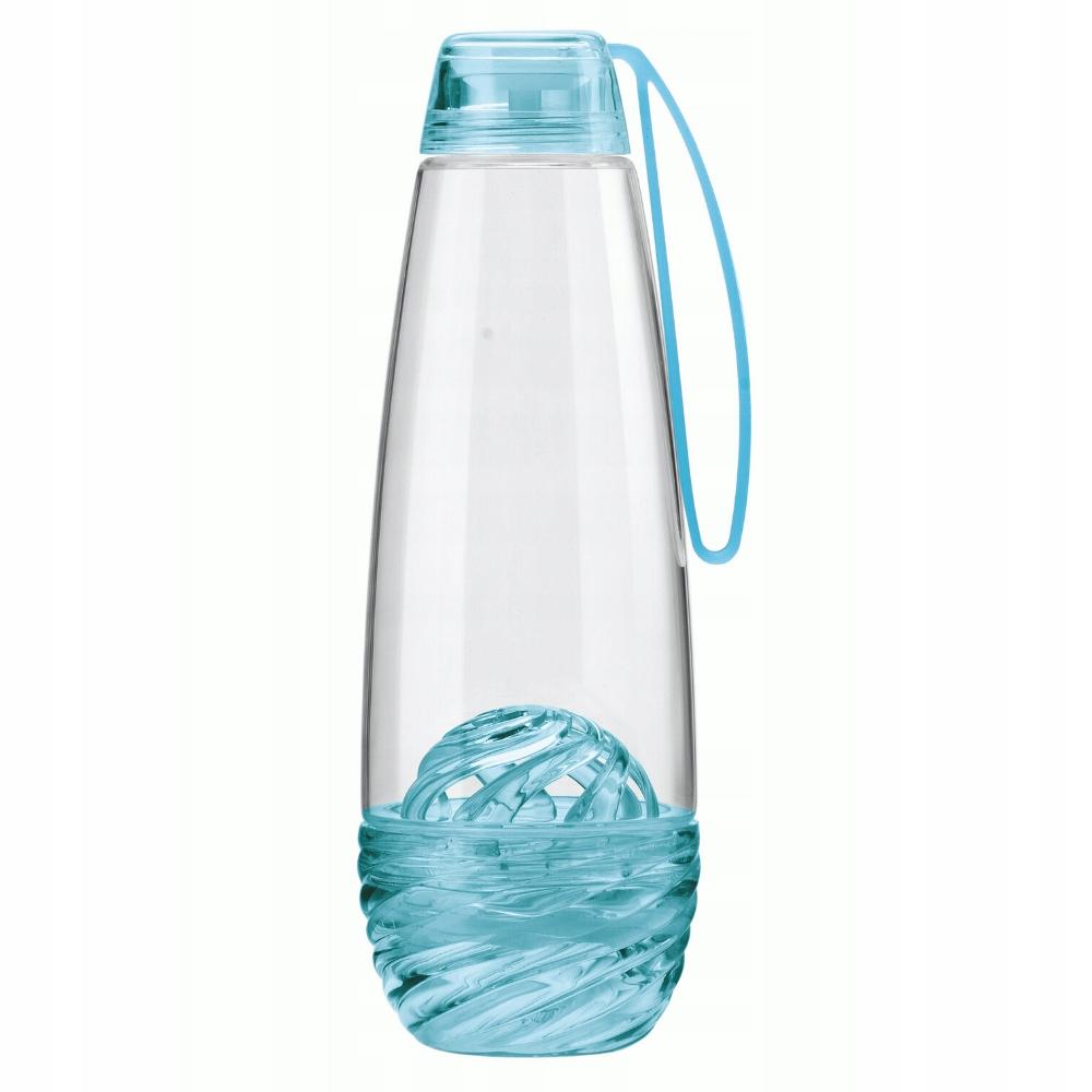 Butelka Na Wodę Z Wkładem Na Owoce Niebieska