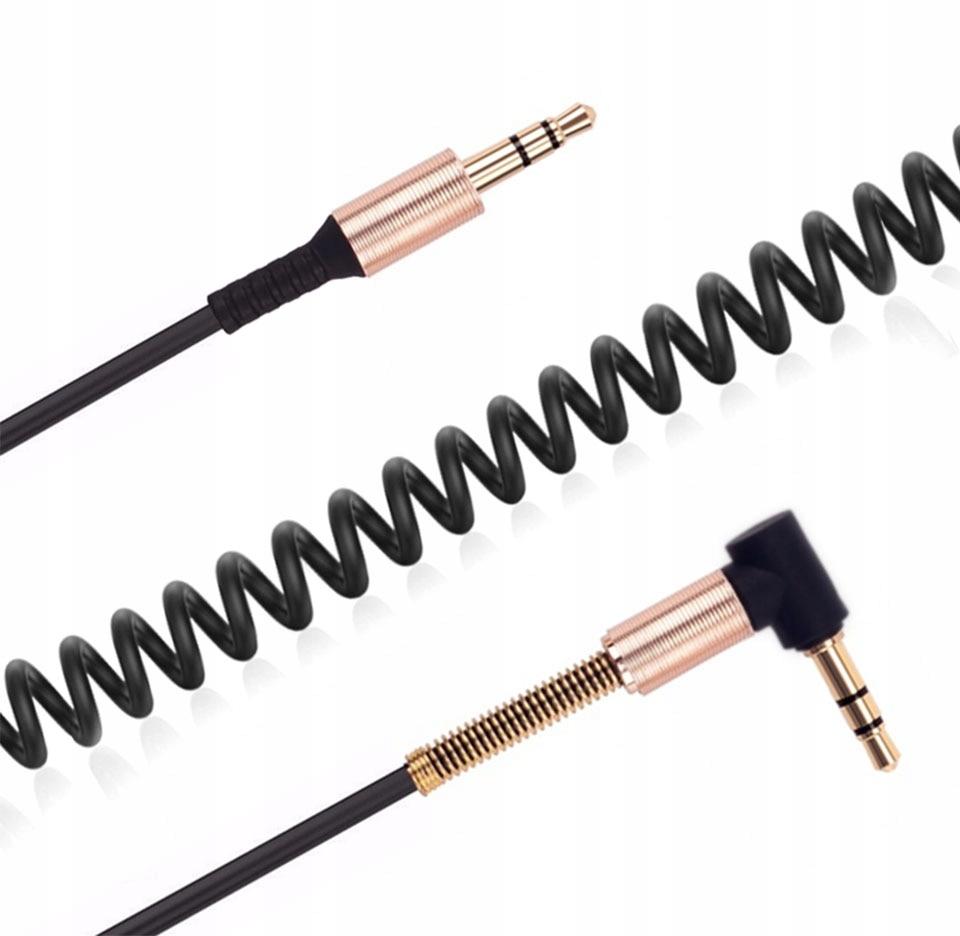 Kabel 2xJack 3,5 mm połączenie słuchawek aktywnych