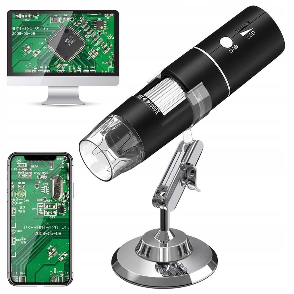 Mikroskop cyfrowy WiFi Digital 1080P HD 2MP