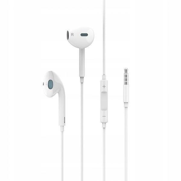 USAMS Słuchawki stereo EP-22 biały /white HSEP2201