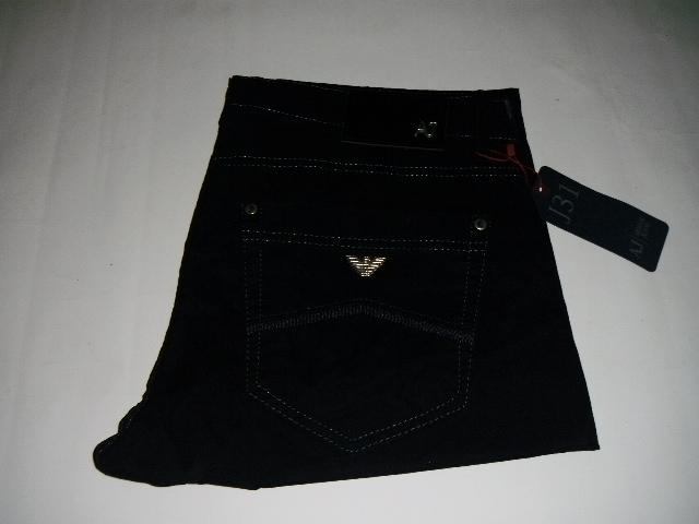 Spodnie Armani granatowe