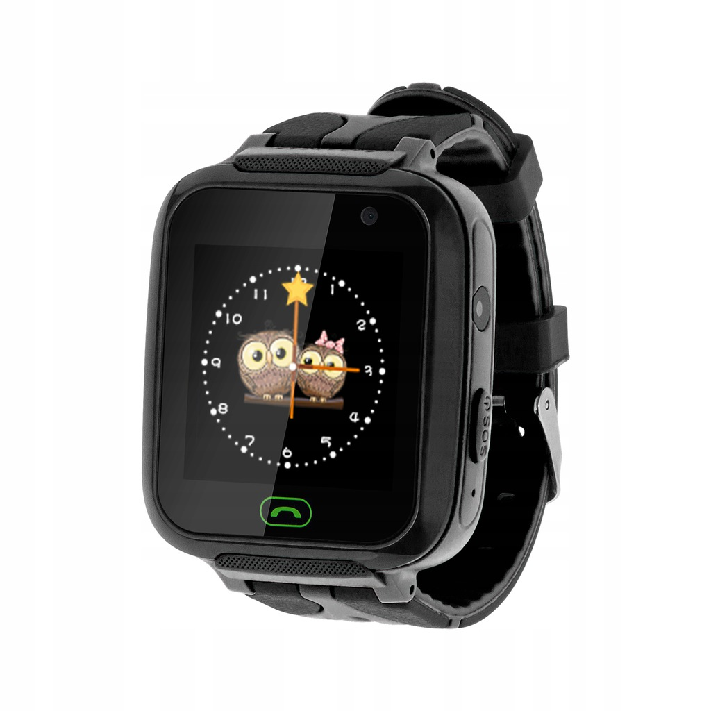 Zegarek dziecięcy Kruger&Matz SmartKid czarny