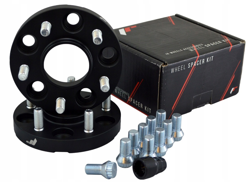 Japan Racing adaptery 15mm 5x120 72.6 Black