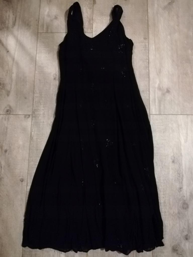 Czarna sukienka rozmiar 40-PL 14-UK