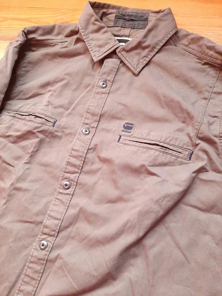Koszula G STAR RAW oliwkowa L