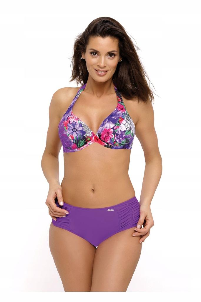 Kostium kąpielowy Petra Purple M-520 (3) XXL