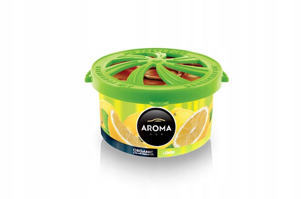 Odświeżacz powietrza aroma organic lemon