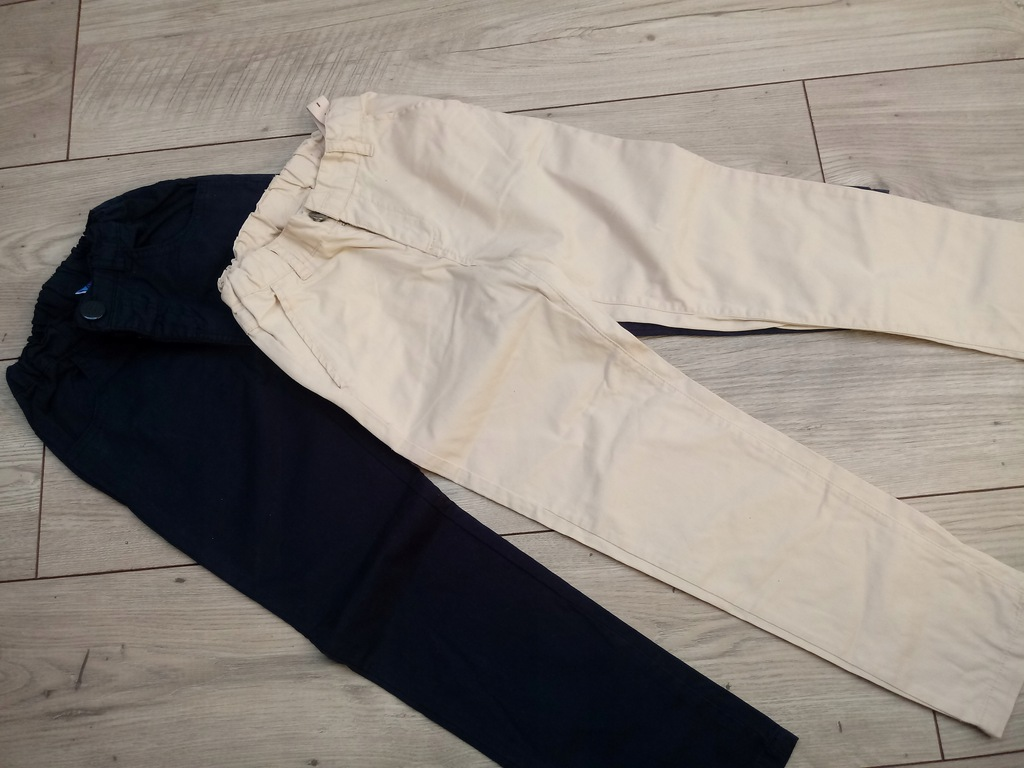 Spodnie 2x coccodrillo 122 * 5.10.15
