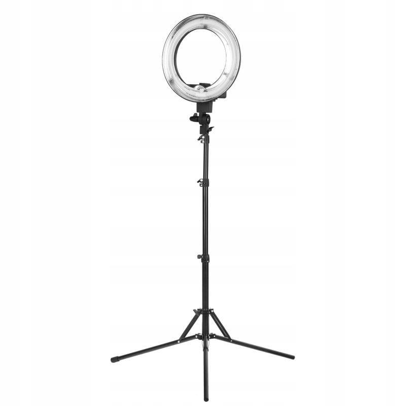 """Lampa pierścieniowa Ring Light 12"""" 35W czarna"""