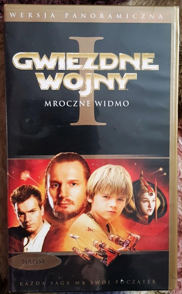 Gwiezdne wojny E1 Mroczne widmo - kaseta VHS