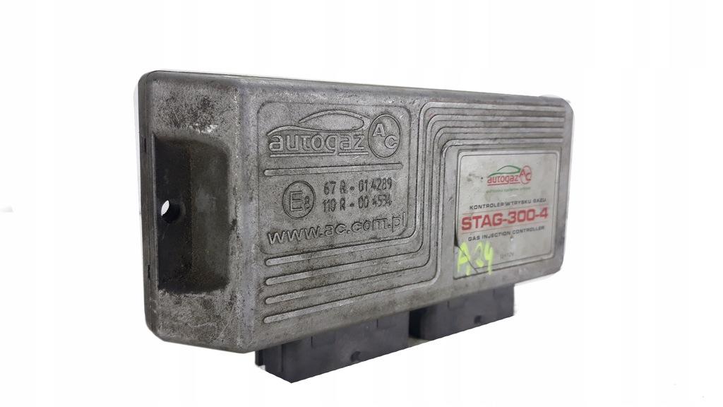STAG-300-4 STEROWNIK GAZU LPG KONTROLER WTRYSKU