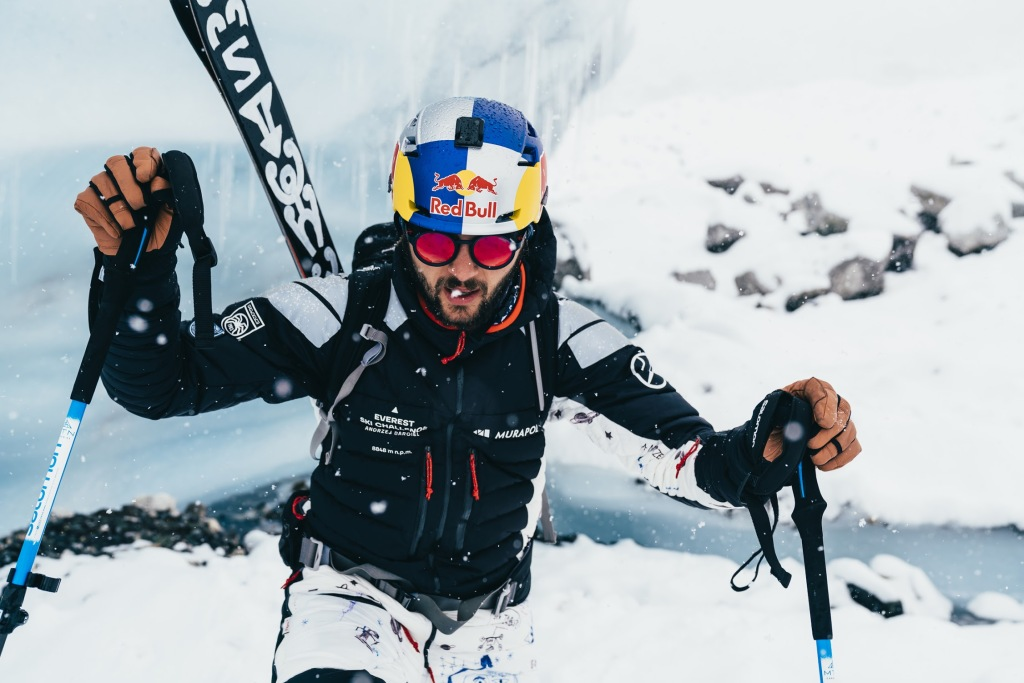 Narty Andrzeja Bargiela Everest Ski Challenge