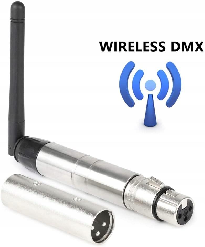 Bezprzewodowy odbiornik oświetlenia DMX Disco DJ