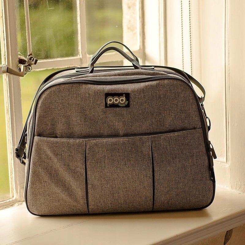 Bizzi Growin Pod Grey Linen - wielofunkcyjna torba