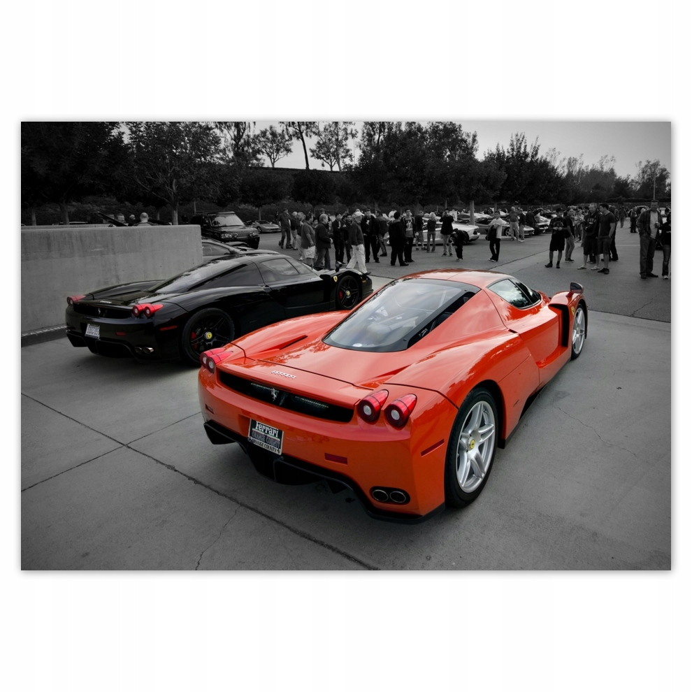 Fototapety 368x254 Ferrari od tyłu