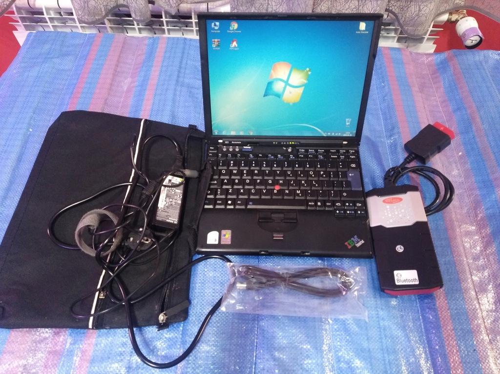 Laptop Zestaw Diagnostyczny Delphi Ds150e 7850029282 Oficjalne Archiwum Allegro