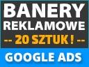 BANERY INTERNETOWE GOOGLE ADS ADWORDS 20 SZT 24H