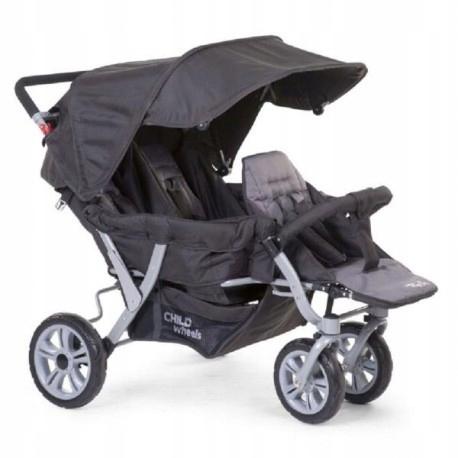 Childhome wózek trzyosobowy triplet